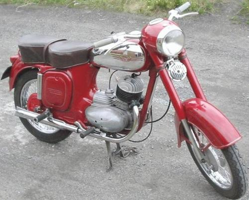Jawa 175 Typ 356 made in 1957